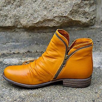 Women Pu Leather Ankle Boots, Women Winter Boots