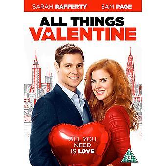 Alle ting Valentine DVD