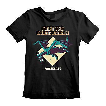 Minecraft Childrens/Kids Ender Dragon T-Shirt