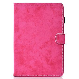 Case For Ipad 9 10.2 2021 Cover With Auto Sleep/wake Magnetic - Rose