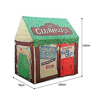 Baby Foldable Cute Play Houses and Fun School Outdoor Toy Tent Lodge Wigwam Outdoor Games