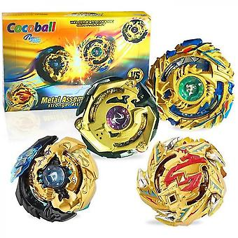 Metal Master Fusion Gyro Toys For Kids  4x High Performance Tops