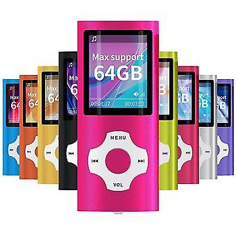 ורוד 8g mp3 mp4 נגן מוסיקה עם מציג תמונות e-קורא קול מקליט fm רדיו וידאו lc1099