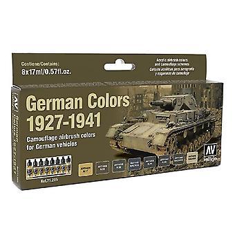 バジェホモデルエアセット - ドイツ色 1927-1941