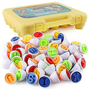 26pcs set Smart Eggs Montessori Math Toys Kids 3D Puzzle Shape Match Educational Game|Math Toys
