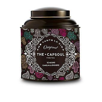 svart te capsoul kanel ingefær (100 g)