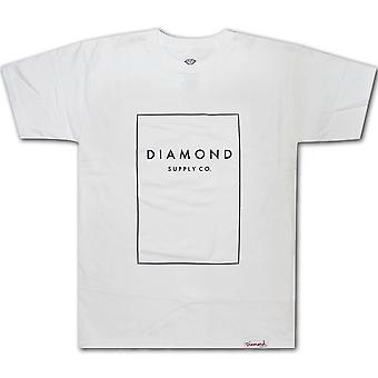 Diamond Supply Co Boxed In T-shirt White