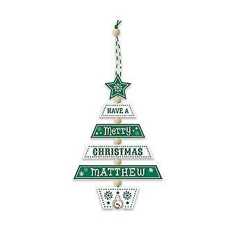 التاريخ وهيرالدري عيد الميلاد شجرة الديكور - ماثيو 269800604 اليد الخشبية وضعت