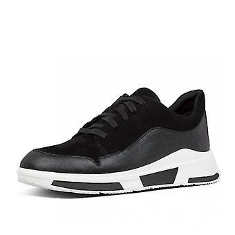 FitFlop فريا™ أحذية رياضية سويدي باللون الأسود
