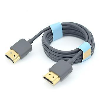 Original Ultra-feines HDMI-Kabel Version 2.0 2k 4k Computer TV Box TV Monitor Kabel