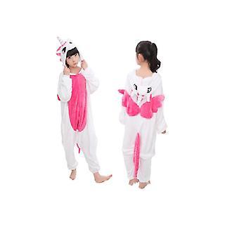 Rose Einhorn Kinder Einhorn Panda Pyjamas Tier Cartoon