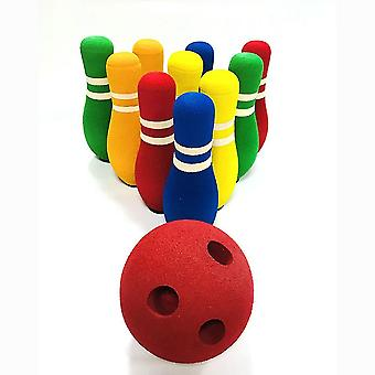 Children's Bowling Toy Set Toy Gift For Children Outdoor And Indoor Fun Toys
