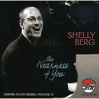 Shelly Berg - Nearness of You [CD] USA import