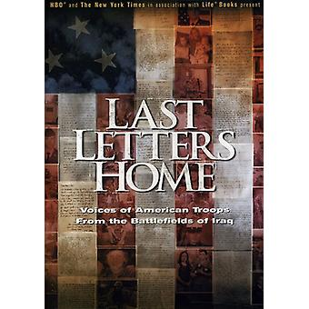 Last Letters Home [DVD] USA import