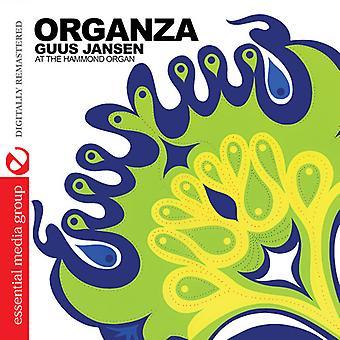 Guus Jansen - Organza [CD] USA import