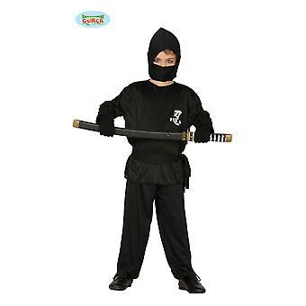 Ninja drakt Ninjakostüm Ninjakämpfer barn drakt