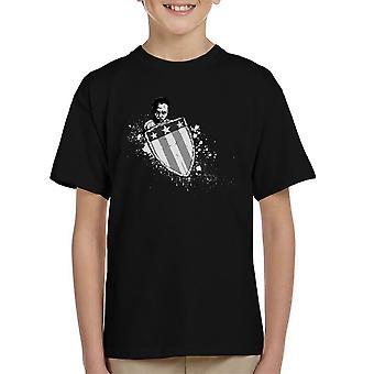 Alternate Beggining Captain America Kid's T-Shirt