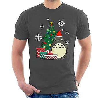 Totoro Christmas Tree Studio Ghibli Men's T-Shirt