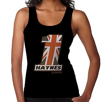 Haynes Union Jack No 1 Women's Vest