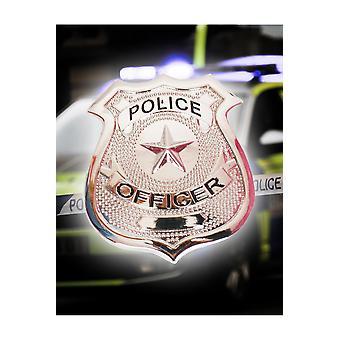 Placa de policía de accesorios