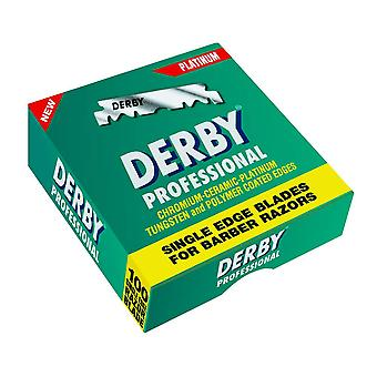 Derby Professional Single Edge Razor Blades (100 Blades)