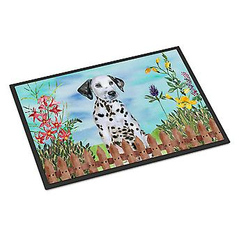 Dalmatian Puppy Spring Indoor or Outdoor Mat 18x27