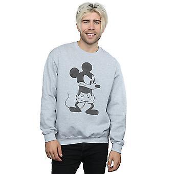 Mickey-Mouse wütend Disney Herren Sweatshirt