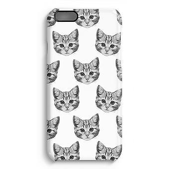 iPhone 6 Plus Full Print Fall (glänzend) - Kätzchen