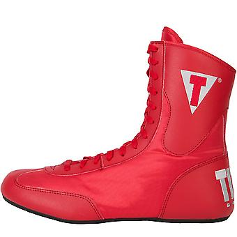 Title Boxing Speed-Flex Encore Mid-Length Boxing Shoes - Red