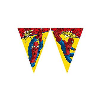 Party favors  Flag line Spiderman (2,3m)
