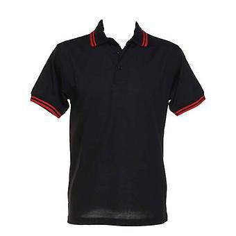 Kustom Kit Tipped Polo Shirts