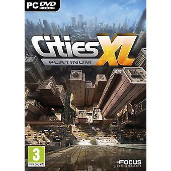 Cities XL Platinum (PC DVD) - jako nowy