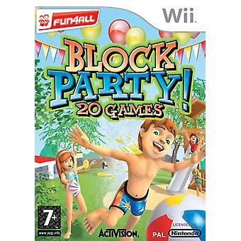 Block Party! 20 spellen (Wii)-nieuw