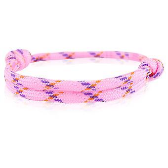 Skipper bracelet surfer band node maritimes bracelet nylon pink/violet 6744