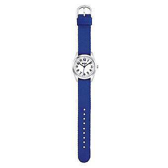 Harcerz dziecko zegarek nauki classic - młoda dziewczyna niebieski 280309003