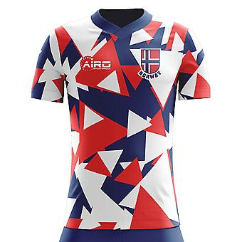 2020-2021 Noorwegen Away Concept Voetbalshirt