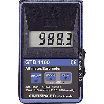 Greisinger GTD 1100 Digital højdemåler Barometer termometer