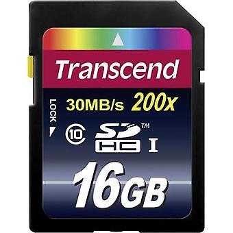 Transcend Premium SDHC 16 GB klass 10-kort