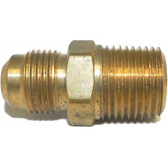 """Grande 3-14888 1/2"""" tubo de poner fin a una línea de servicio, 1/2"""" hilo de rosca, latón Flare macho Unión"""