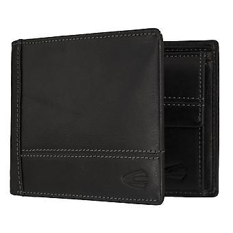 Camel active mens wallet portefeuille sac à main noir 7302