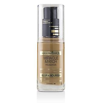 Max Factor Miracle Match Foundation Blur & Nourish - # 85 Caramel - 30ml/1oz