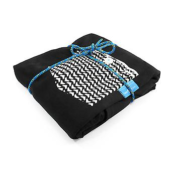 Anchor & Crew Noir Black Marker Print Organic Cotton T-shirt (womens)