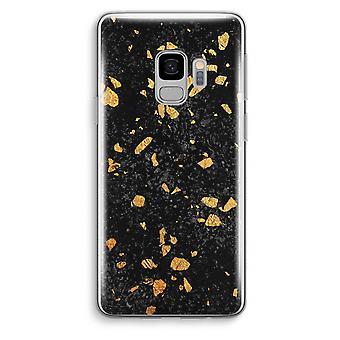 Samsung Galaxy S9 läpinäkyvä kotelo (pehmeä) - Terrazzo N ° 7