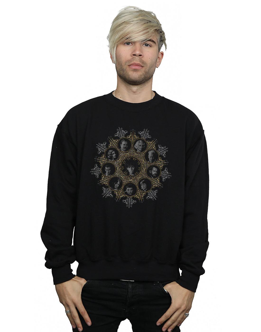 Fantastic Beasts Men's Character Crest Sweatshirt