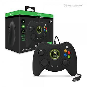 Hyperkin książę przewodowy kontroler dla konsoli Xbox One / Windows 10 PC (czarny) Hyperkin