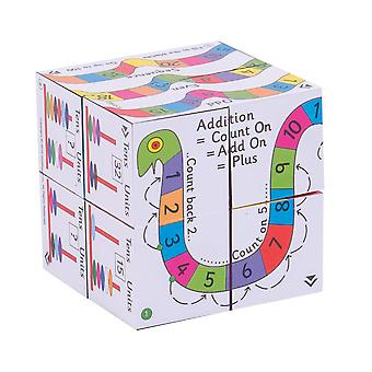 ZooBooKoo Educational Addition & Subtraction Cubebook Educational Sums Math