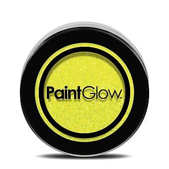 UV Glitter Shaker Sherbet Zitrone