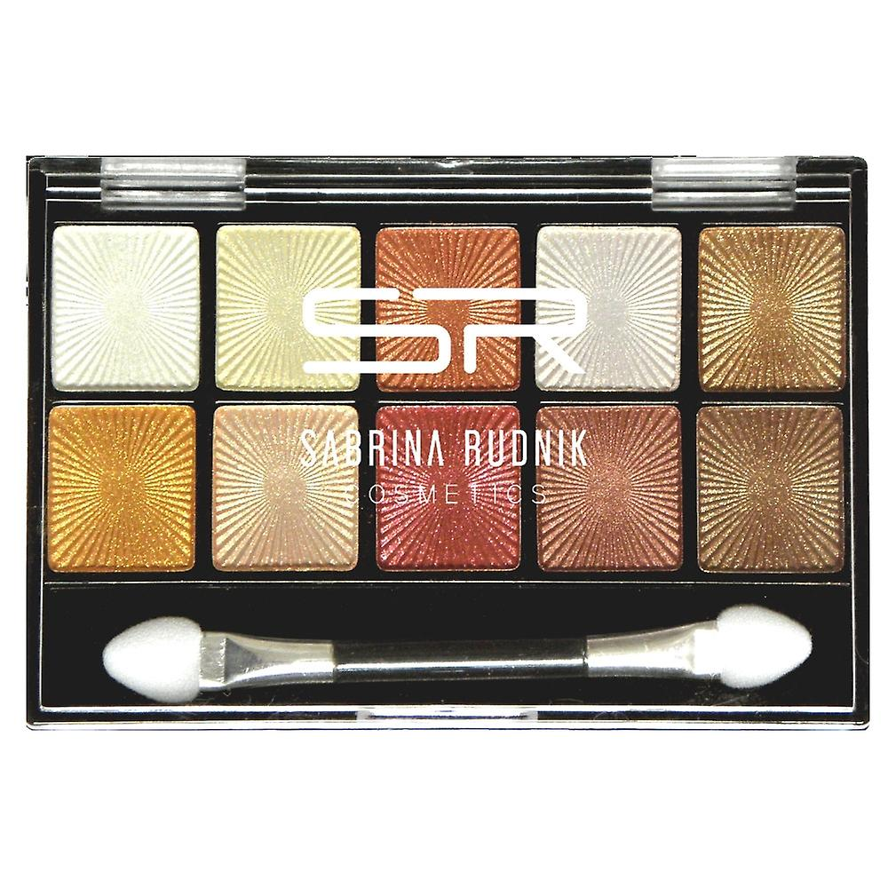 Sabrina Cosmetics Lidschatten 10 Farben (Palette-1)