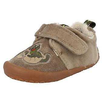 Boys Clarks Slippers Snoozy Boy