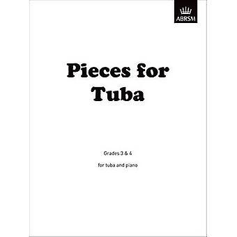 Pieces for Tuba - Grades 3 & 4 by Guy Warrack - Johannes Brahms - ABRS